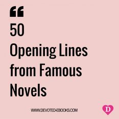 Opening lines from famous novels